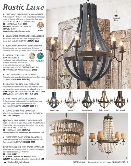 ... Rustic Luxe J A | DRIFTWOOD ENTWINED OVALS CHANDELIER Metal Ovals With  A Driftwood Finish Surround