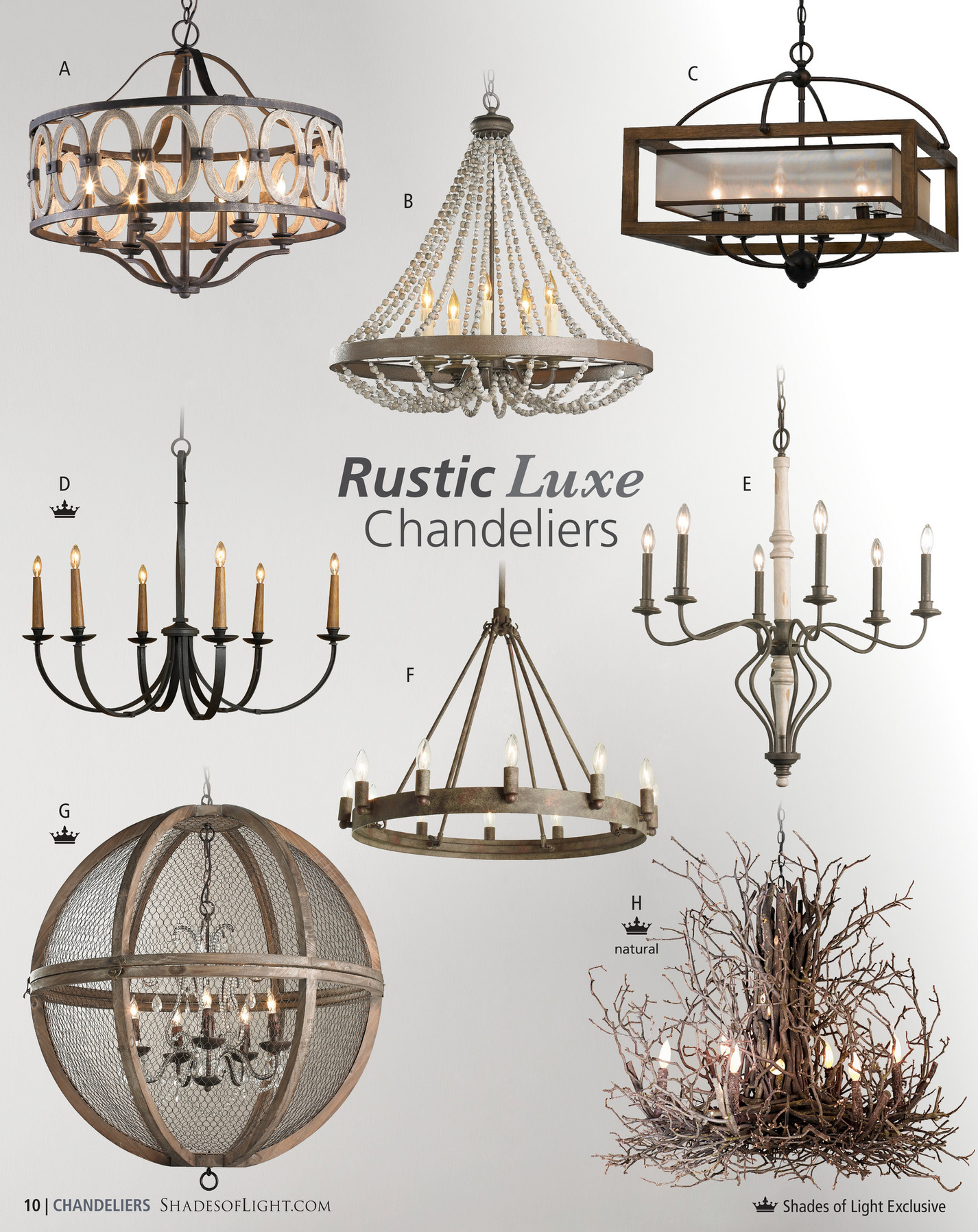 White washed wood sphere chandelier chandeliers by shades of light - A Driftwood Entwined Ovals Chandelier Metal Ovals With A Driftwood Finish Surround A Candelabra Style Cluster Of Gold Bronze Or Classic White 6x60 Watts