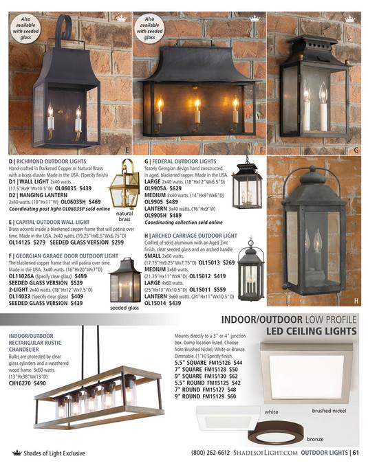 shades of light indigo inspirations 2017 capital outdoor wall light