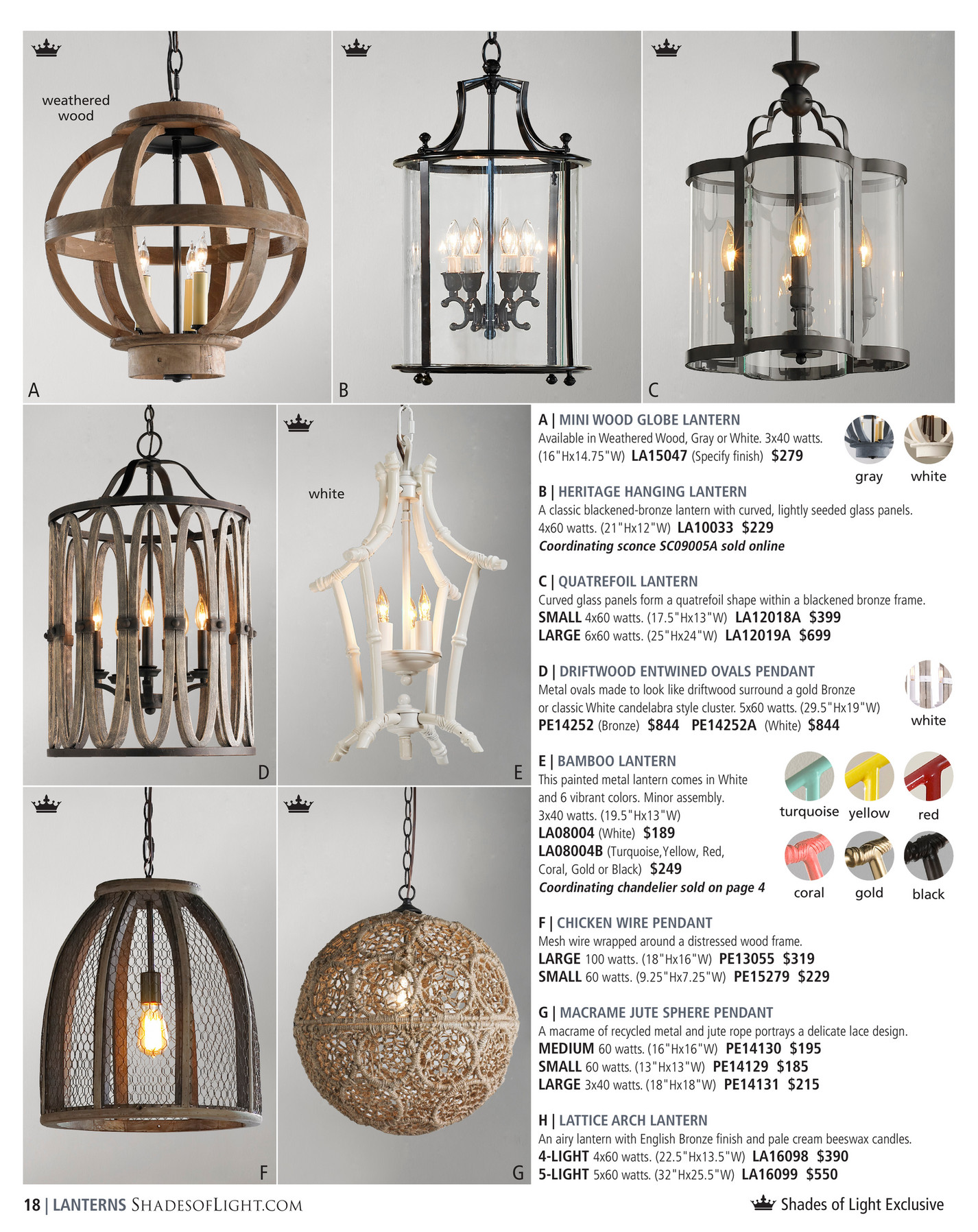 Shades of Light - Upscale Traditional 2018 - Vintage Modern Crystal ...